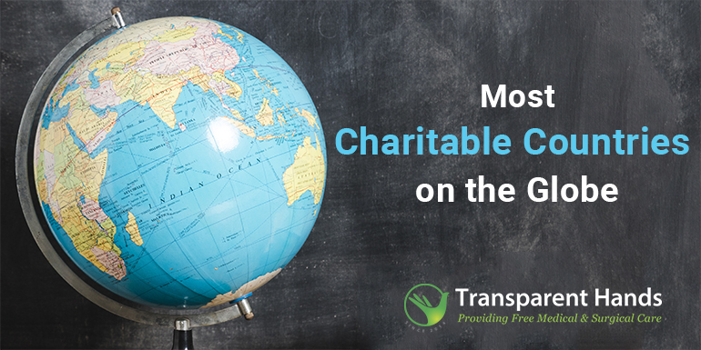 Most Charitable Countries on the Globe