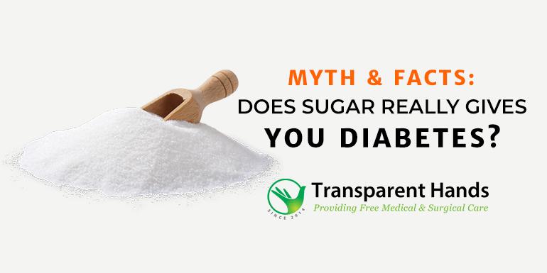 Does sugar really gives you diabetes