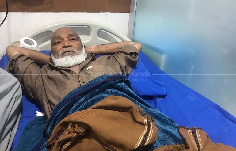 Gul underwent his cardiac procedure