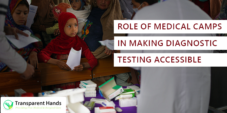 Role of medical camps