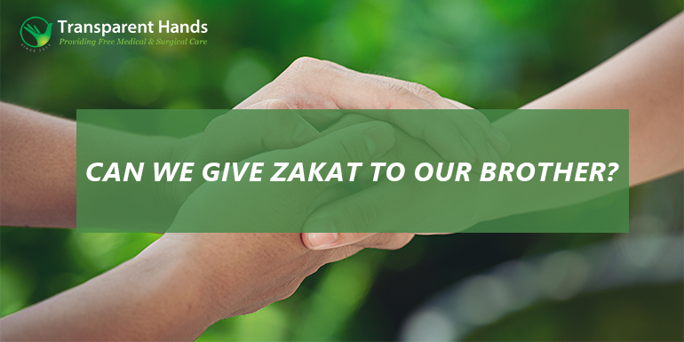 zakat to brothers