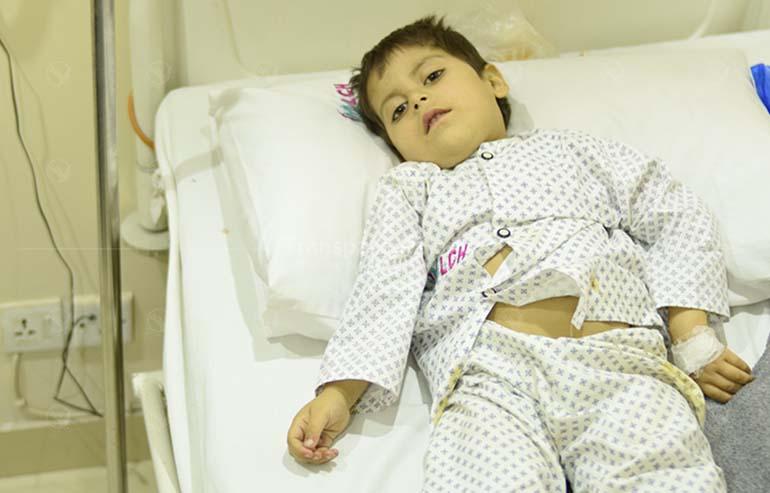Faizan's congenital defect