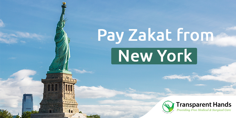 Pay Zakat from New York