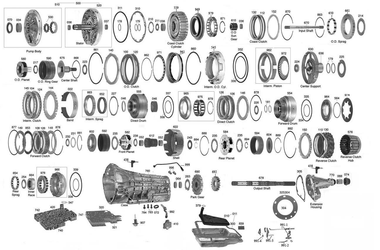 Dodge 46re Transmission Wiring Diagram