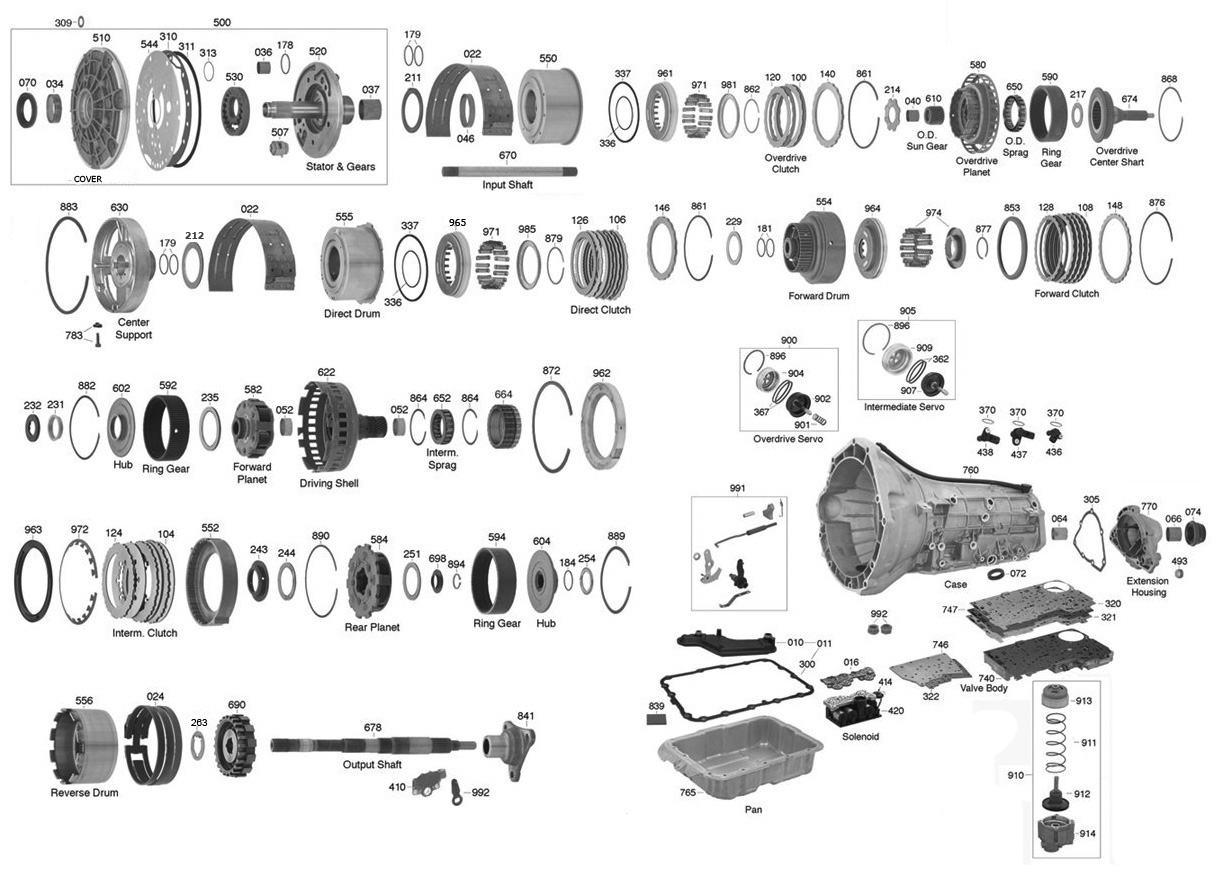 Chevy Cavalier Transmission Diagram