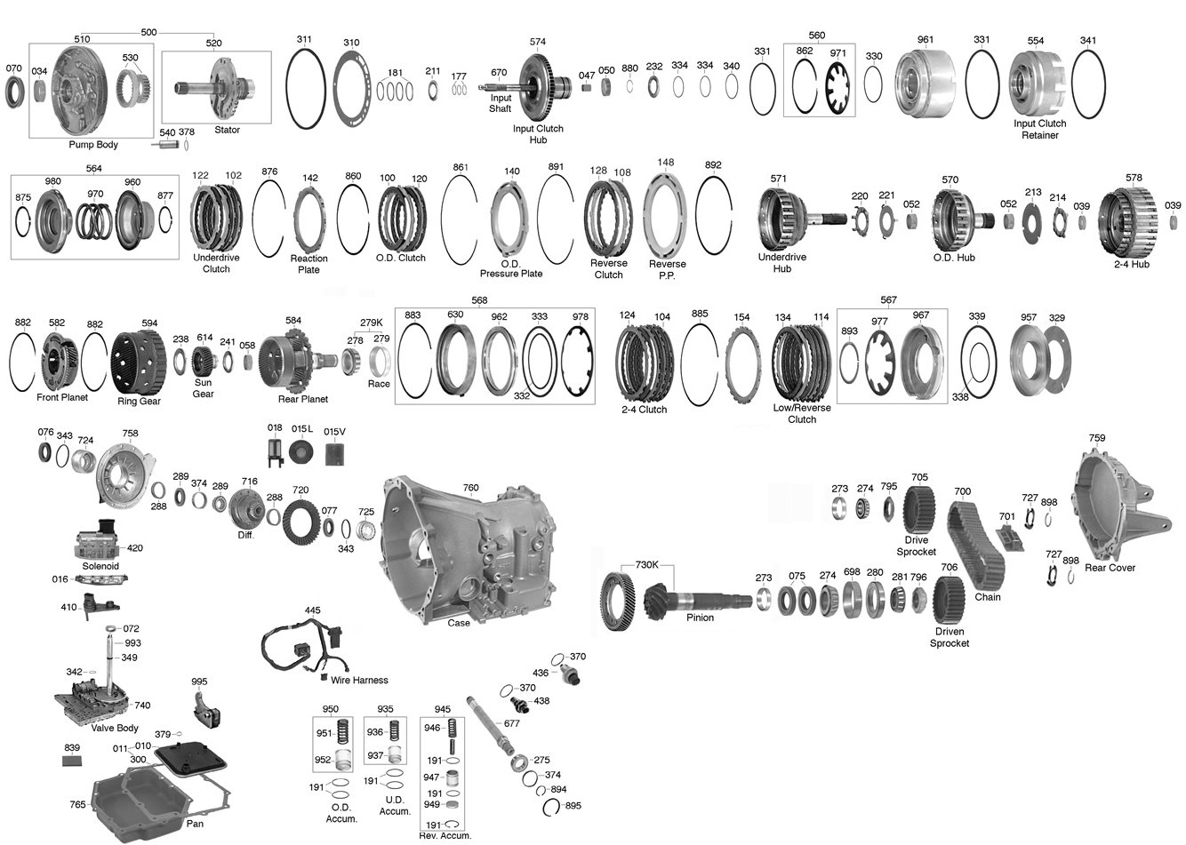 A604 Transmission Wiring Diagram