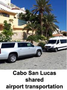 Cabo San Lucas shared airport transportation