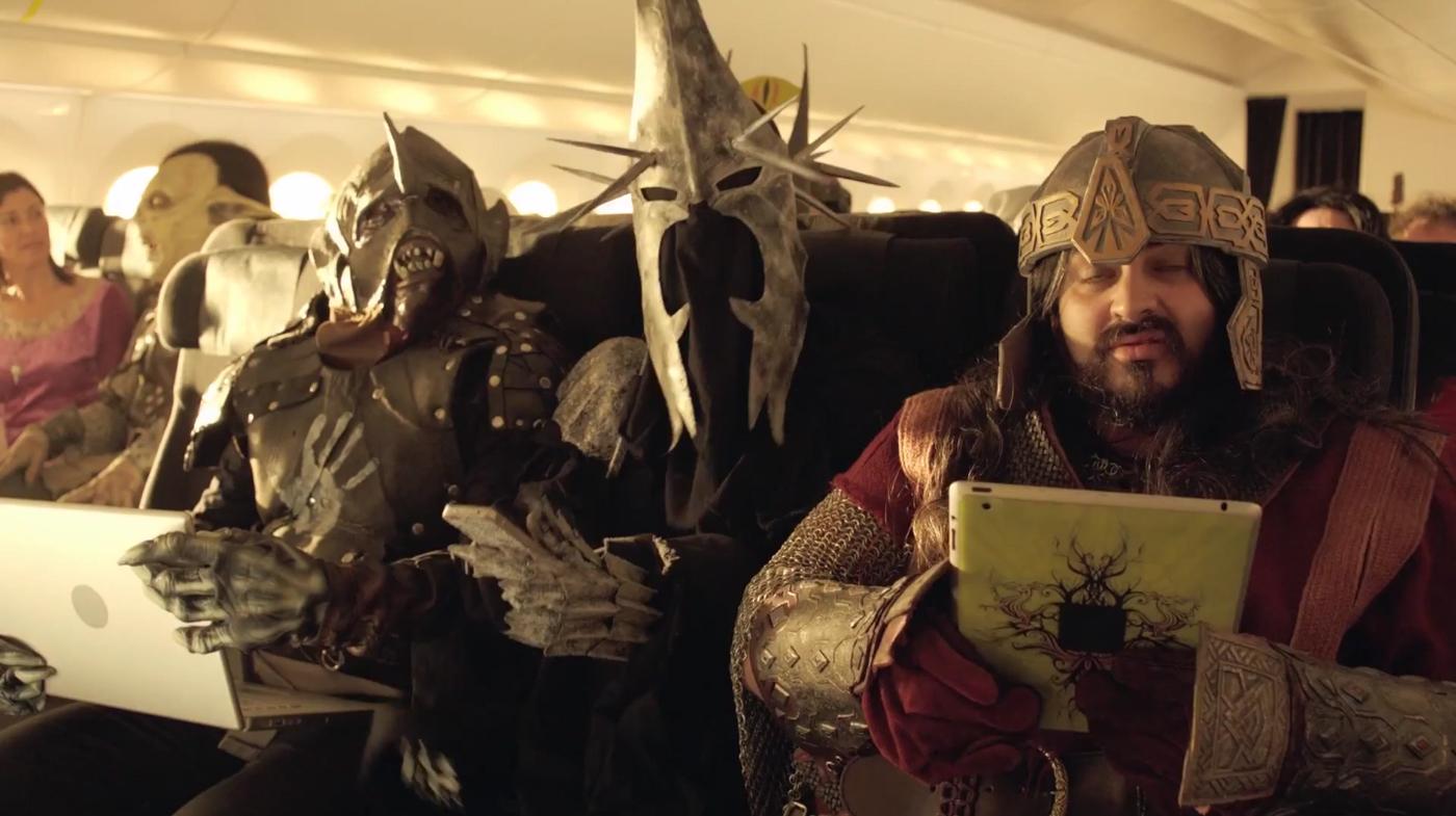 Hobbit Air New Zealand