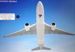 Supuesto esquema de pintura de LATAM Airlines