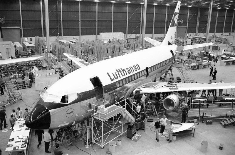El primogénito 737 de Lufthansa