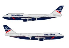 BRITISH AIRWAYS-BOEING 747-400-LANDOR LIVERY