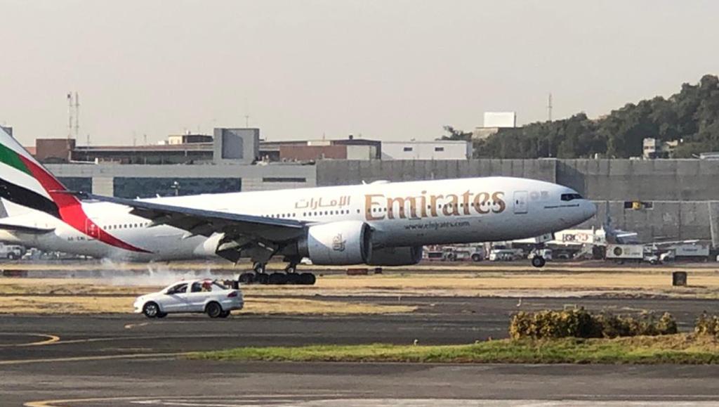 Emirates inaugura su vuelo Dubai-Mexico con escala en Barcelona