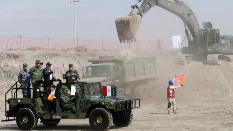 La CIDH recomendará al gobierno de México suspender la construcción del Aeropuerto en Santa Lucía.