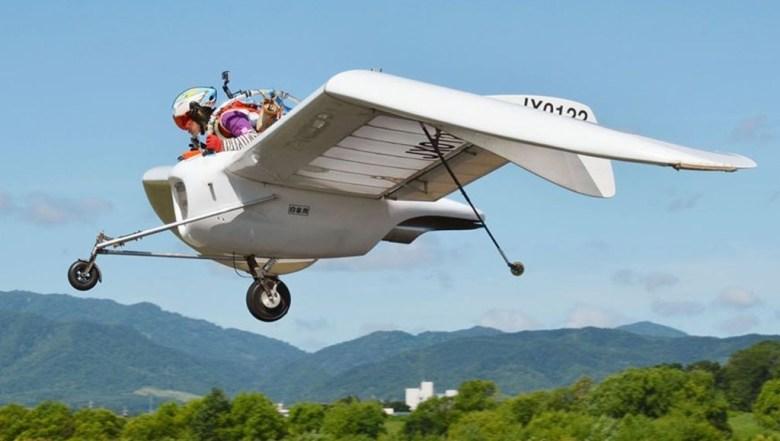 OpenSky M-02j es un planeador fabricado en Japón
