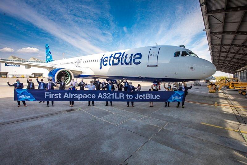 Jetblue recibe su primer Airbus A321LR y comenzará vuelos transatlánticos