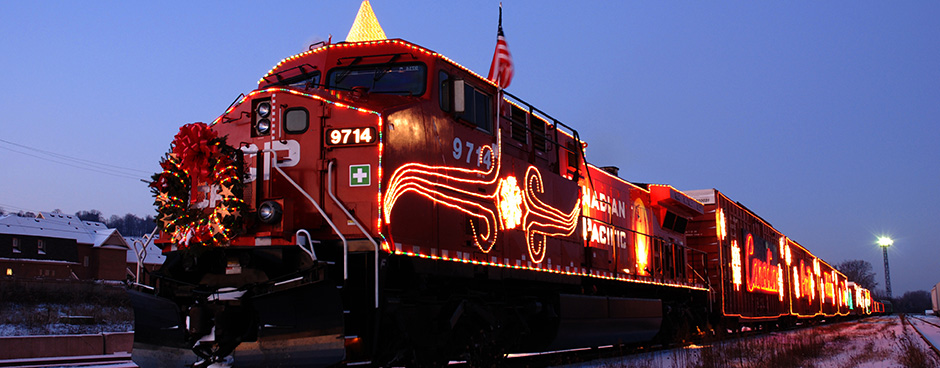 CP Holiday Train- London ON