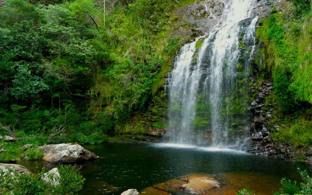 Cachoeira da Farofa queda D'água