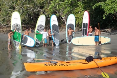 Kayak en Playa Jaco