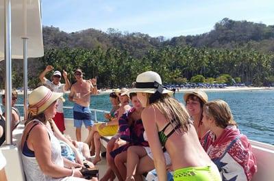Visita a la Isla Tortuga en Playa Jaco