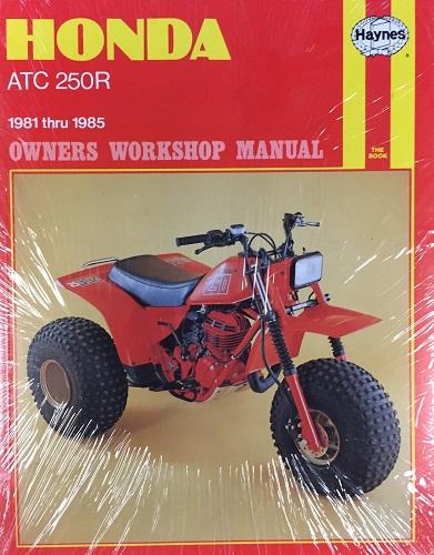 Honda ATC 250R: 1981 thru 1985 - transportbooks com
