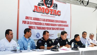 Photo of Inaugura AMOTAC paradero seguro en Nayarit