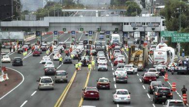Photo of Reportan tránsito lento en autopistas hacia la capital