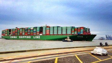 Photo of CSCL Globe, el buque que transporta 19,000 contenedores