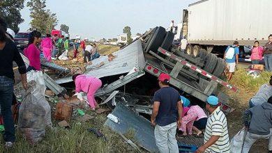 Photo of Rapiñan camión con cosméticos y jabón en Irapuato