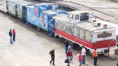 Photo of KCSM realiza su tradicional recorrido del tren navideño