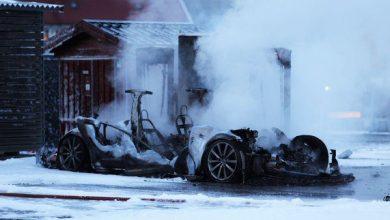 Photo of Auto de Tesla se incendia mientras se cargaba