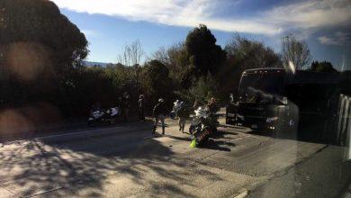 Photo of Camión de los Broncos de Denver sufre accidente