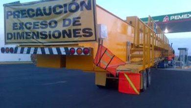 Photo of Transportes de exceso de dimensiones reanudará circulación el 5 de abril