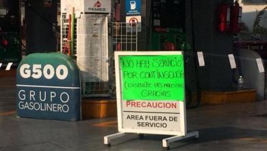 Photo of Por contingencia, cierran algunas gasolineras