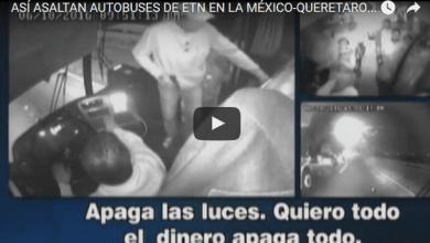 Photo of VIDEO: Nuevo asalto y violación en autobús de pasajeros