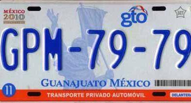 Photo of Doble 00 y 0 de Guanajuato podrán circular en Ciudad De México