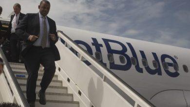 Photo of JetBlue aterriza en Santa Clara e inaugura los vuelos entre EU y Cuba