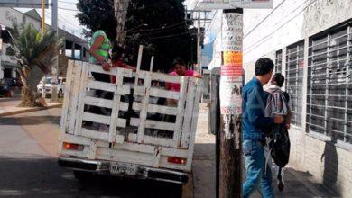 Photo of Abastecen Oaxaca en camionetas y taxis tras paro empresarial