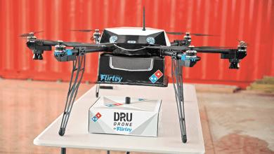 Photo of ¿Hambriento? Un dron llevará tu pizza