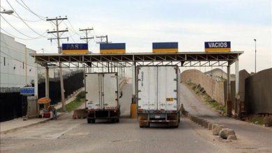 Photo of Camiones vacíos podrán regresar por Anzalduas