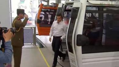 Photo of Inaugura Peña Nieto sistema teleférico Mexicable