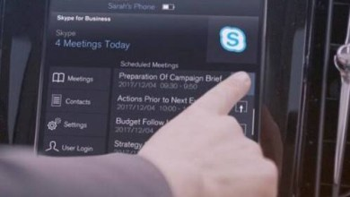 Photo of Skype for Business en autos Volvo