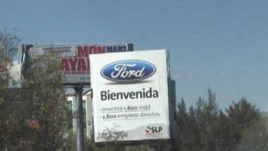 Photo of Liquidan a trabajadores de planta fallida de Ford en SLP