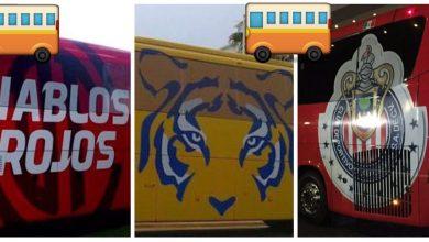 Photo of Estos son los autobuses de la Liga Mx