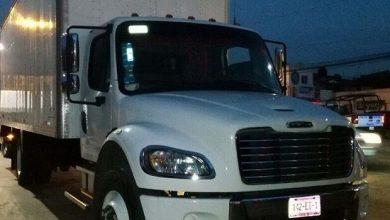 Photo of Recuperan camión robado con carga de 700 mil pesos en medicinas