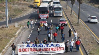 Photo of Amotac se manifiesta en autopista México – Tuxpan