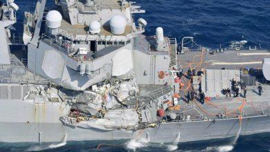Photo of Choque entre buque de guerra y portacontenedores deja siete marinos desaparecidos