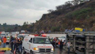 Photo of En Morelia, 27 accidentes de camiones de carga en lo que va de junio