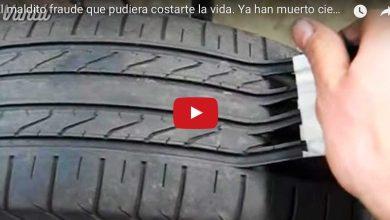 Photo of (Video) Cuidado! Así reparan llantas usadas para venderlas como nuevas