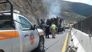 Photo of Piden a SCT mejorar la 57 en Los Chorros por alza en accidentes
