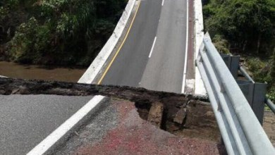 Photo of Reportan daños en la Autopista México – Acapulco tras sismo